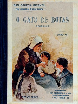 cover image of O Gato de Botas